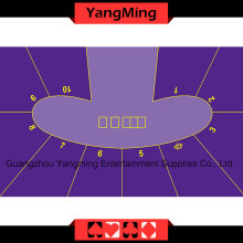 Texas Hold′em Poker Table Layout -5 (YM-DZ01P)