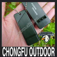 2016 new arrived Multiple audio Emergency survival whistle hot sale