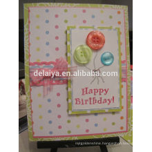 Customized Design Decdorative 3D Birthday Party Invitation Card