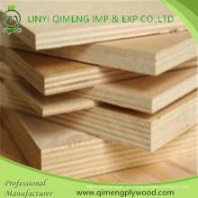 3mm 5 mm 9 mm 12 mm 15 mm 18 mm madera contrachapada comercial de álamo de Linyi Qimeng