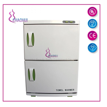 Towel warmer cabinet for spa