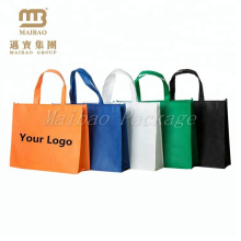 Alibaba China Wholesale Eco-friendly Reusable Promotional Guangzhou Non Woven Shopping Bag
