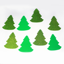glitter Chirstmas tree foam sticker