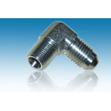 Manchon hydraulique Ningbo en acier inoxydable Jic to Pipe Elbow 90