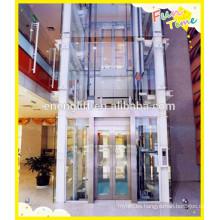 Tecnología avanzada y ascensor panorámico seguro