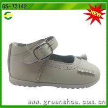 Zapatos baratos al por mayor del niño de los zapatos de bebé del precio