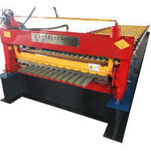 Roof corrugated roll forming machine