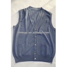 men's cashmere sleeveless cardigans, sweaters, vest for men