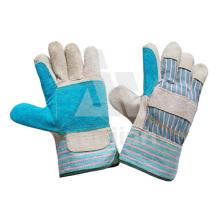 Кожаные град/АБ/БК безопасность сварка перчатки