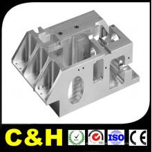 Peças feitas à máquina de aço inoxidável de bronze de alumínio moldadas CNC do alumínio quente