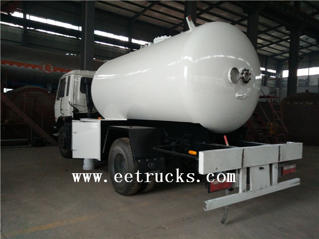 LPG Dispenser Trucks with Flow Meter