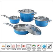 8PCS Color Cooking Pot Set