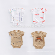 2017 Wholesale Baby Clothes Romper Baby Onesie Infant Rompers