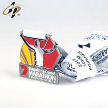 En gros alliage de zinc de conception personnalisée faire des médailles de course en métal