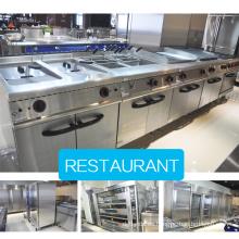 Equipo profesional de la cocina del restaurante del hotel / 900 series