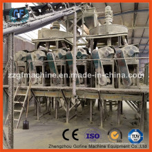 Línea de fabricación de fertilizantes compuestos NPK