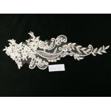 Art und Weise dekorativer französischer Spitzegewebe für Hochzeitskleidgroßverkauf China