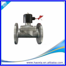 Zwei-Wege-Flansch Edelstahl Wasser-Magnetventil mit normal geschlossenen
