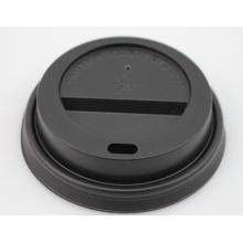 Tampa padrão do copo do papel plástico para o café quente