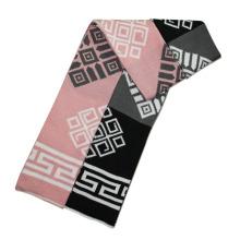 Mode Acryl gestrickte Paar Schals (YKY4191-Paar 3)