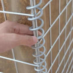 HESCO defensive barriers military use protective walls