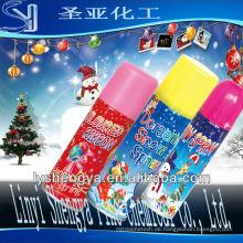 Neujahrsparty Schneespray Manufaktur