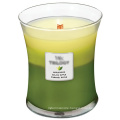 Perfume Fragrance Scented Organic Soy Wax Party Candle in Glass Jar