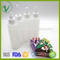 Cilindro de grado alimenticio vacía exprimido Envase de plástico LDPE para envasado de salsas