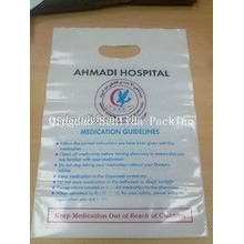 Promtion Die Cut Carrier Bag for Medicine Packaging