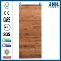 JHK Wood Paneling Wooden Bathroom Pocket Door
