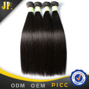 JP Hair no tangle no shedding straight human hair pieces accessory for women