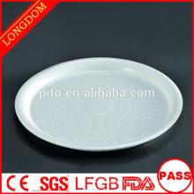 Fabricant de porcelaine PT plaque de motif de fleurs, assiettes profondes, plats ronds