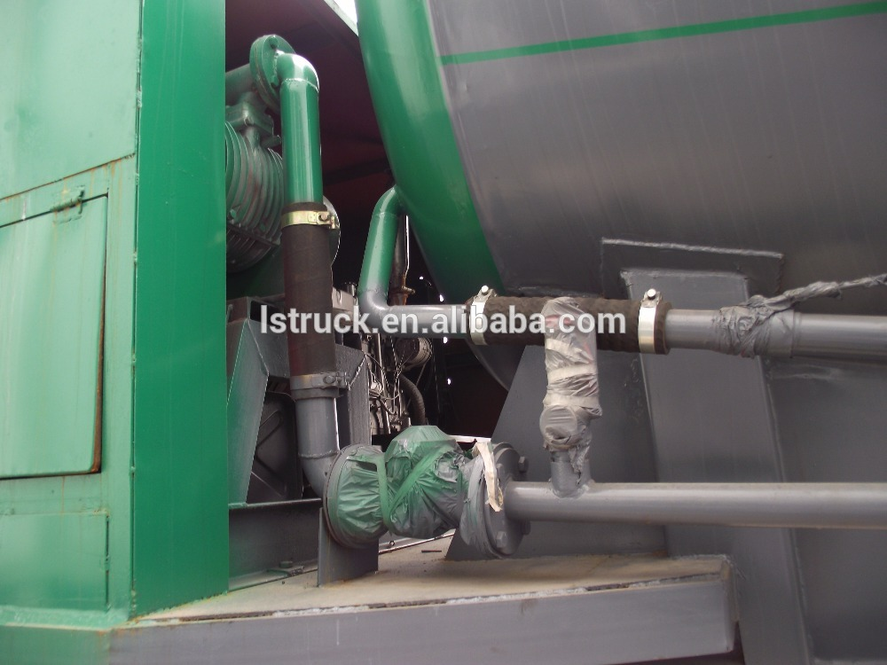 2 Axle Bulk Powder Semi Trailer
