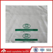 Ткань для чистки очков из микрофибры с экологически чистым материалом