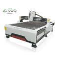 Machine de découpe au plasma et à la flamme cnc de 1500x3000mm pour l'acier au carbone