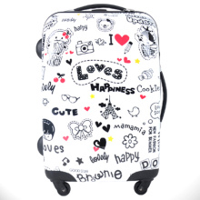 cute PC trolley luggage 28""