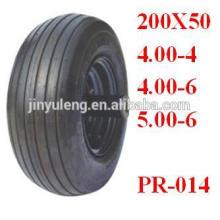 Schubkarrenreifen 13x400-6 für Schubkarre / aufblasbares Boot