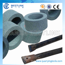 Green Silicon Carbide Grinding Wheel for Sharpening Drill Steel