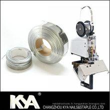 103023G10 Fil de couture galvanisé pour la fabrication d'agrafes, clip de papier
