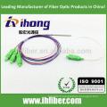 FBT 1X3 Séparateur à fibre optique à tube d'acier Connecteurs SC / APC