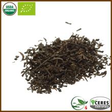 Органический сертифицированный сорт второго сорта Loose Leaf Pu Er Tea