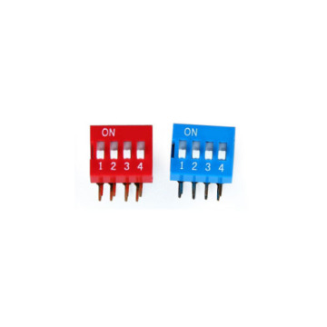 DA-04 DIP SWITCH 3-4 POSIÇÃO PITCH 2.54MM