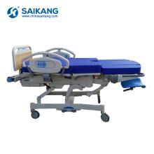 Lit gynécologique obstétrique électrique médical d'accouchement d'A98-9 multifonction d'accouchement