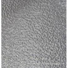 Chapelle en aluminium moulue en étain embossée / carrelée / feuille de roulement