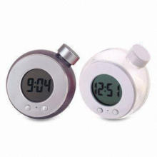 Promotional Desk Clocks, Ideal for Table Decorations, Made of Plastic Material