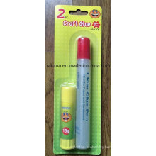 Clear Liquid Glue Pen and Glue Stick for Stationery Supply