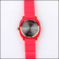 silicone strap stainless steel back japan movement quartz watch sr626sw for women