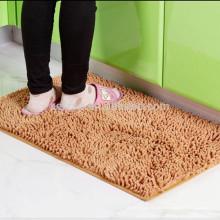 accesorio para el hogar chenille alfombra de baño alfombra fabricación de materiales
