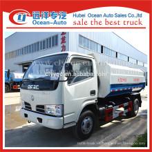 DFAC nueva Condición y Tipo de Combustible Diesel 5m3 pequeño camión de basura