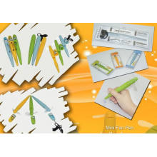 Colourful Portable Mini Fan Pen, Measures 23.5 X 7 X 3cm, Eco-Friendly Materials